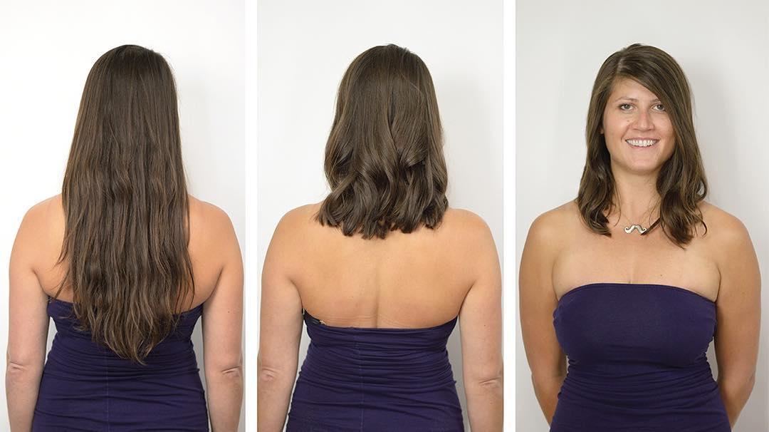 Mid Length Haircut Jesse Wyatt Hairstylist